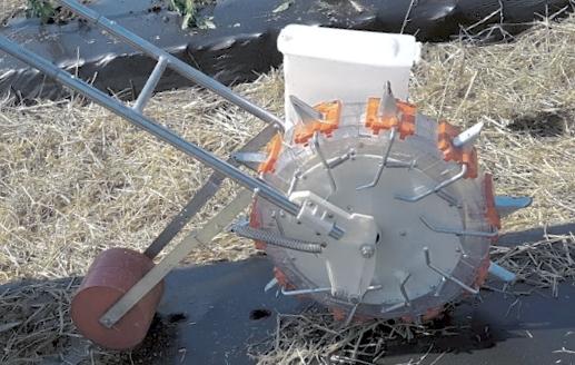 Plastic Mulch Planter Seed Planter